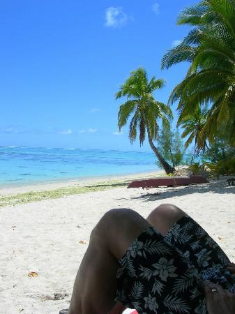 Aitutaki Beach Villas: Aitutaki lagoon