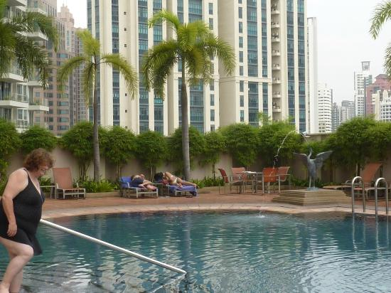 Swimming pool picture of grand copthorne waterfront - Least crowded swimming pool singapore ...