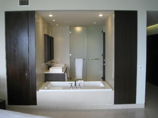 Gansevoort Turks + Caicos: Bathroom in our grand deluxe oceanfront studio