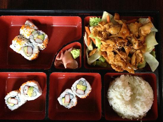 how to make teriyaki chicken sushi rolls