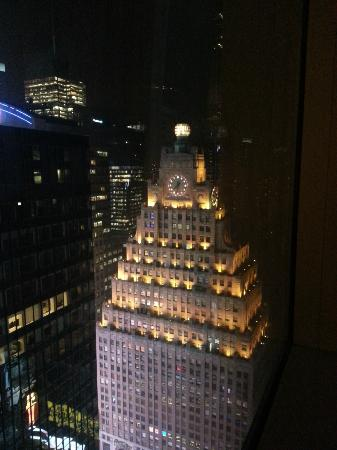 View Of The Paramount Hotel From Our Room On 46th Floor Picture Of Millennium Times Square New York New York City Tripadvisor