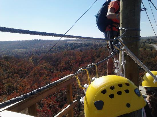POSTOAK Lodge & Retreat: High atop the canopy, ready to zip