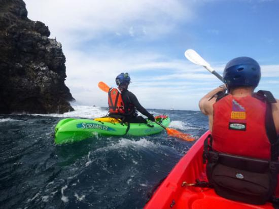 Paddle Sports Center: Having fun with Channel Islands Outfitters!