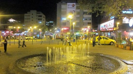 Plaza Foch : The plaza at night