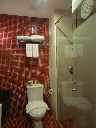 โรงแรมเร: Clean Toilet