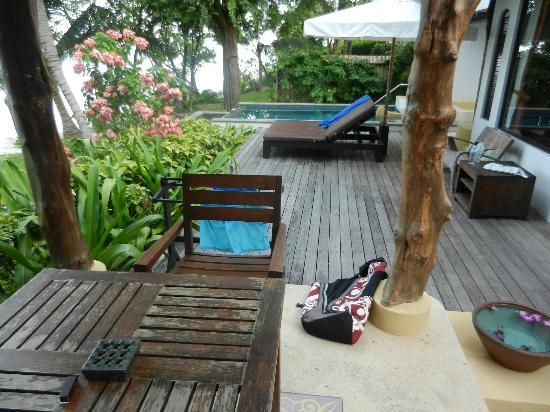 Paradee Resort & Spa Hotel: Villa Deck area with Plunge pool