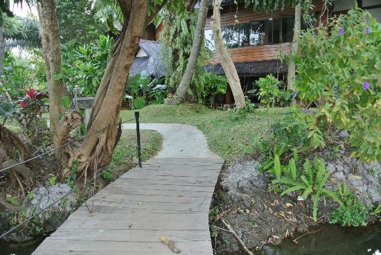 Kampung Sumber Alam: near restaurant