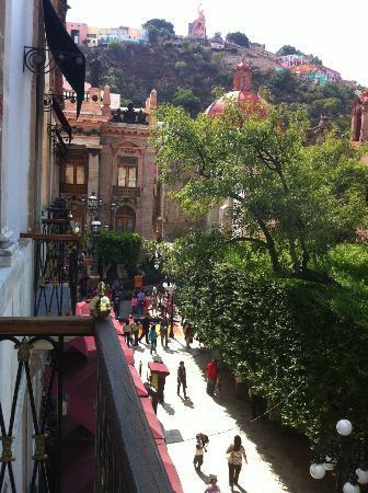 Hotel Boutique 1850: Vista del balcón