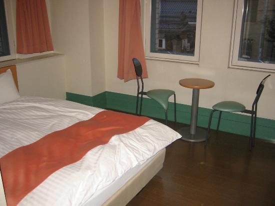 โฮเต็ล ไวบรานซ์ โอทารู: 緑を基調とした洒落た室内