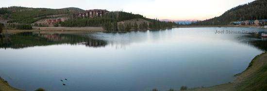 Lake Condominiums: Morning view from our balcony