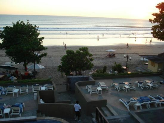 Pelangi Bali Hotel: from the balcony of the functions area