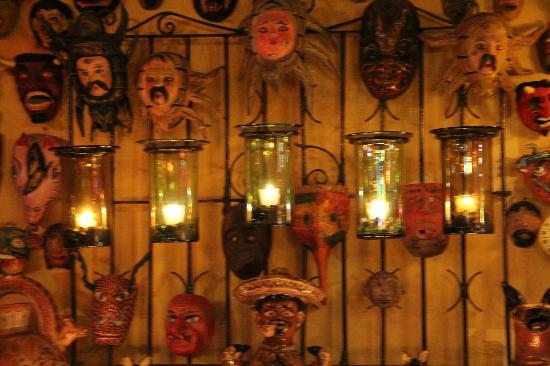 Casa de Las Flores: A wall of masks