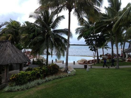 Sheraton Denarau Villas: View from first floor Master deck