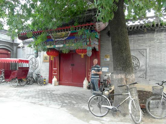 Hotel Cote Cour Beijing: Entrance to Hotel in YanYue Alley