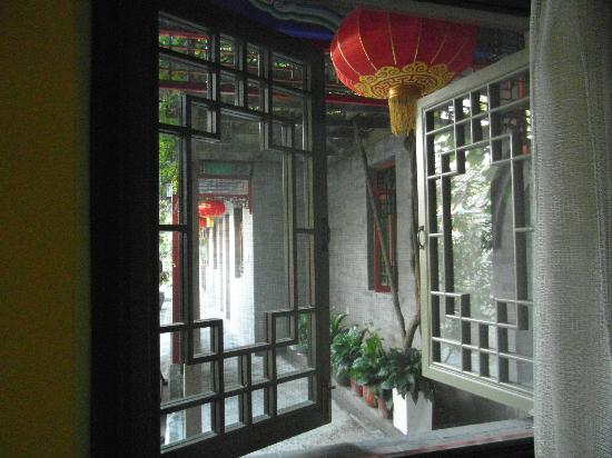 Hotel Cote Cour Beijing: Pretty windows onto courtyard