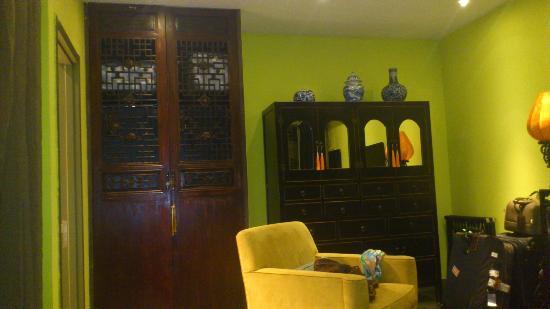 Hotel Cote Cour Beijing: Superior Suite sitting area