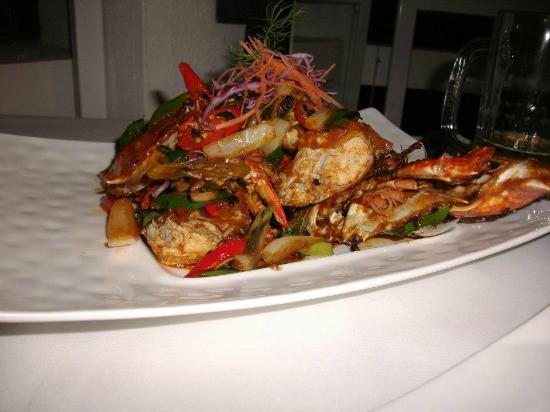 The Cliff Restaurant & Bar: Crab
