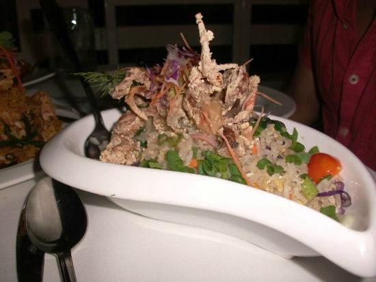 The Cliff Restaurant & Bar: The fried rice