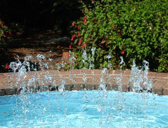 Prescott Park: Fountain of sparkles 