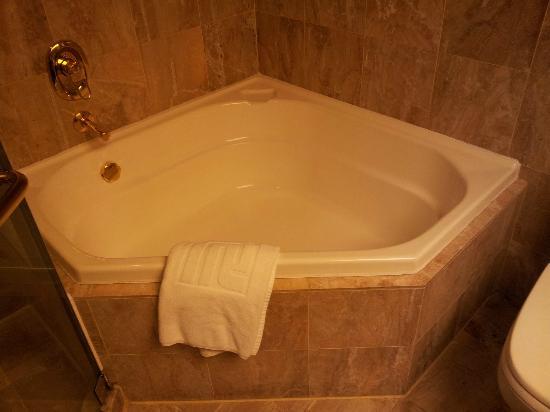 ريجال هونج كونج هوتل: Nice Tub 