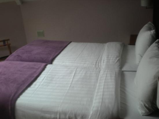 Le Centenaire: Beds were ok