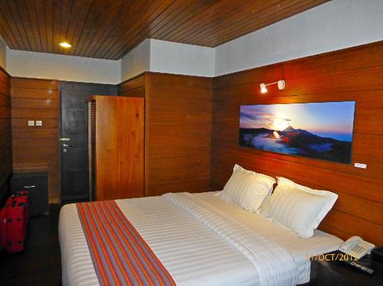 Sukapura, Indonesia: La chambre
