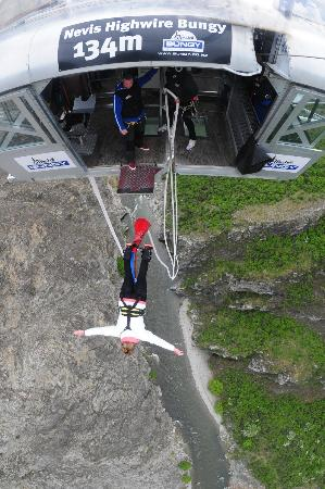‪‪AJ Hackett Bungy New Zealand‬: after the jump!