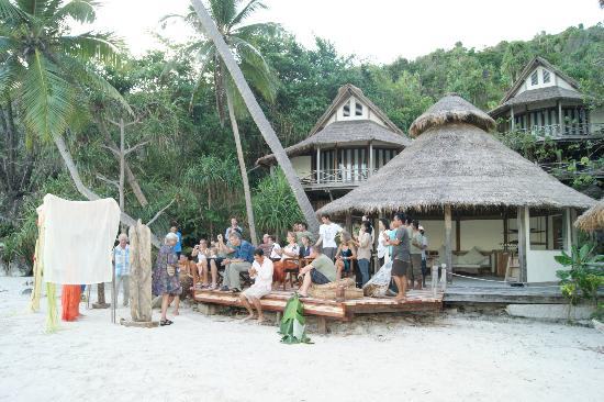 Misool Eco Resort: Wedding held on the South Beach