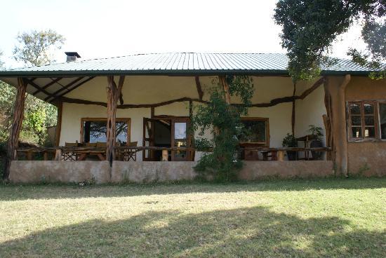 Mara Bush Houses, Asilia Africa : Terrasse