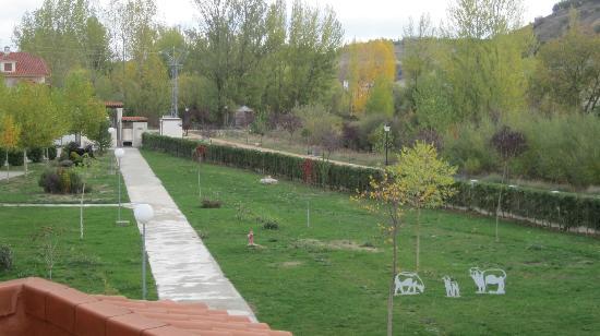 Hotel El Prado de las Merinas: Jardines