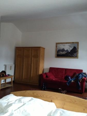 Villa Alpina: camera