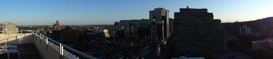 La Tour Belvedere: vista dalla terrazza