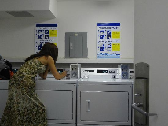 La Tour Belvedere: lavanderia