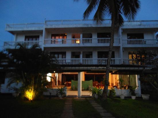 Hotel Sumadai : L'hôtel côté réception