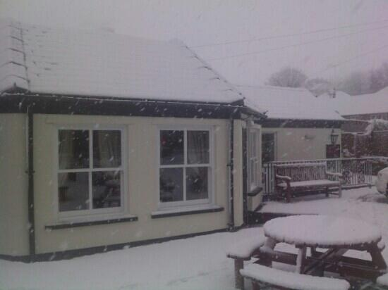 The New Inn: on a winters day! 