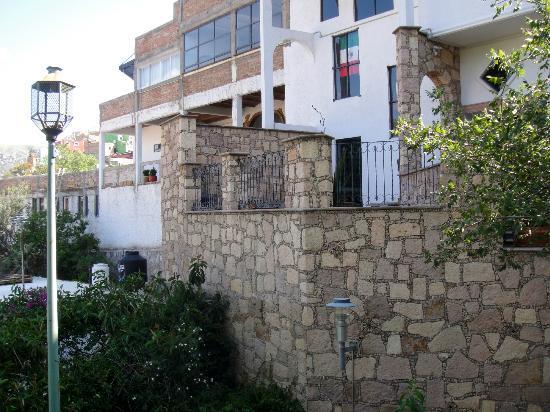 Casa Zuniga B&B : Front exterior of Casa Zuniga