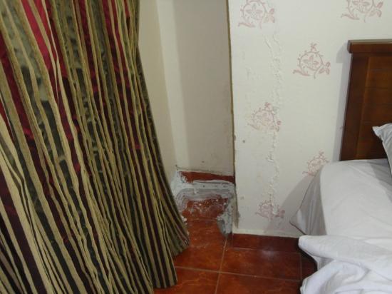 Milano Hostel: umidita' alle pareti