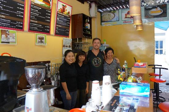 Cuppa Coffee: The owner and staff, most lovely friendly people