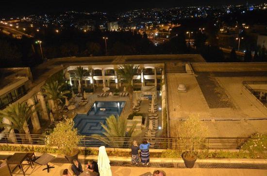 Dan Jerusalem Hotel: gerusalemme di notte