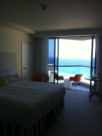 QT Gold Coast: sea views double room