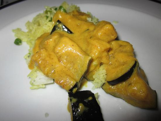 le penjab: I forget the name...veg eggplant dish