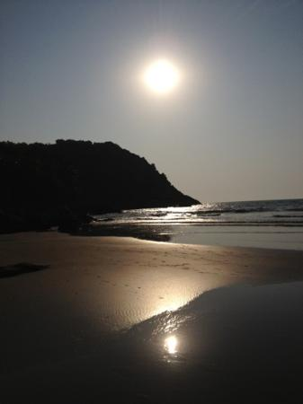 Gokarna, Indien: sunset