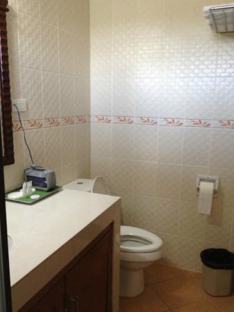 Estrellas de Mendoza Playa Resort: Toilet