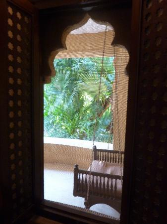 Ajit Bhawan: View from a cottage room