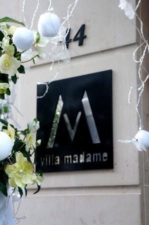 วิลล่า มาดาม: Villa Madame