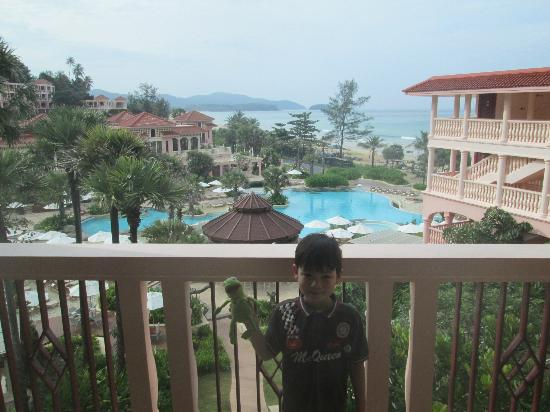 Centara Grand Beach Resort Phuket: Waking up to this every morning...Heaven