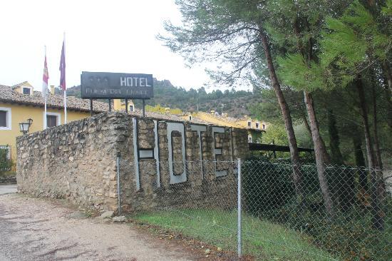 Cueva Del Fraile: Entrada al hotel