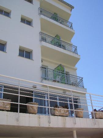 Hotel Troncoso: desde la piscina
