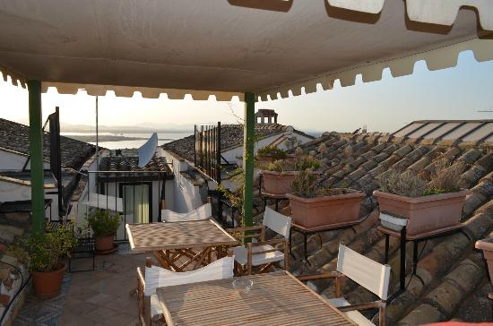 Residenza Kastrum: View from roof terrace