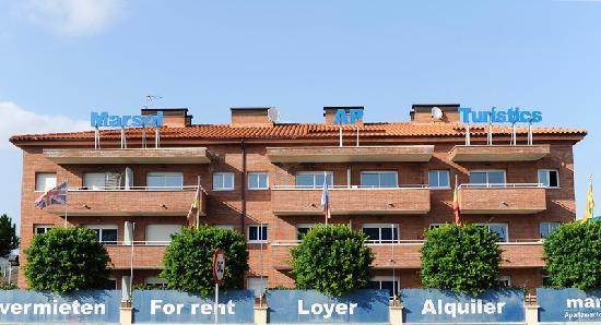 Apartamentos Turisticos Marsol: Entrada principal